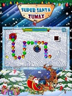 Игра Super Santa Zumax для Нокиа