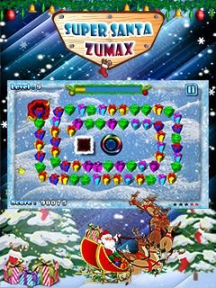 Игра Super Santa Zumax бесплатно