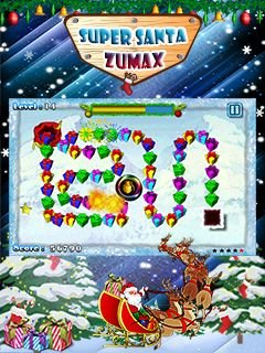 Игра Super Santa Zumax скачать на телефон