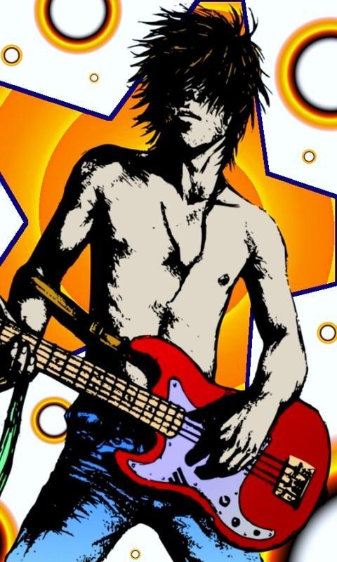 Картинка Rock Star 480x800