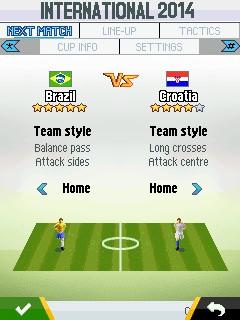 Игра Реальный футбол 2015 для Nokia