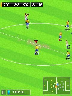 Игра Реальный футбол 2015 (Real football 2015) на телефон