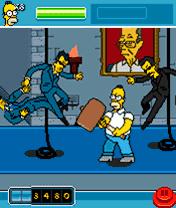 Игра The Simpsons Arcade (Симпсоны: Аркада) скачать
