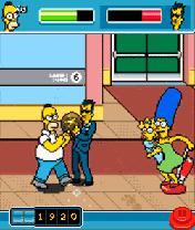 Игра The Simpsons Arcade (Симпсоны: Аркада) загрузить
