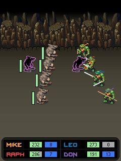 Игра Черепашки Ниндзя: Трибунал (TMNT: Ninja Tribunal) для Nokia