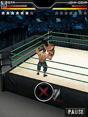 Игра WWE SmackDown vs. RAW 2010 на телефон