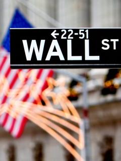 Фондовая биржа на Уолл стрит (Stock Exchange on Wall street) 240x320