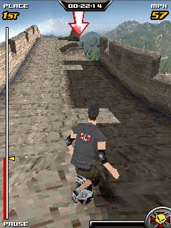 Tony Hawk's Downhill Jam 3D java